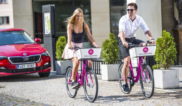 Nové Boleslavsko inovativní: sdílená kola v Mladé Boleslavi