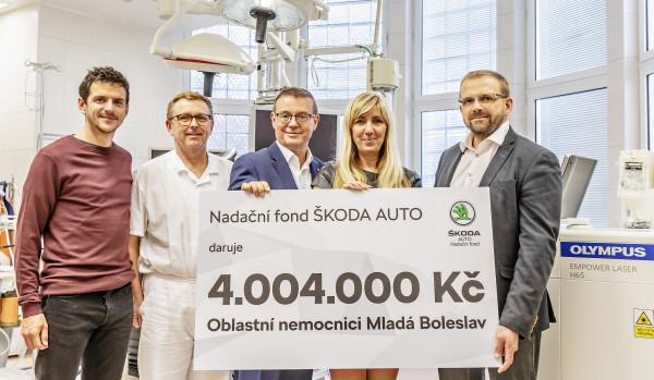 Nové Boleslavsko zdravější: Nové přístroje pro Klaudiánovu nemocnici